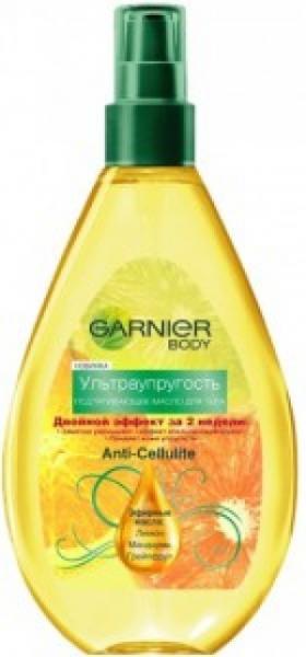 Garnier Интенсивный Уход Упругость Подтягивающее масло для тела ультраупругость 150 мл.