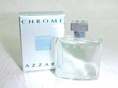 Azzaro men Chrome Туалетная вода 7 мл. mini
