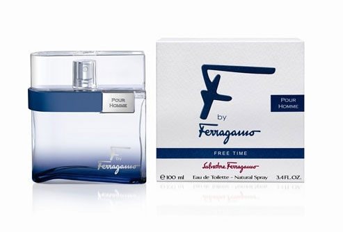 Salvatore Ferragamo men F By Ferragamo Free Time Туалетная вода 5 мл. mini