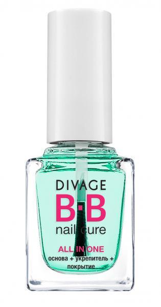 Divage All In One Основа+укрепитель+покрытие для ногтей