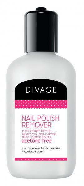 Divage Nail Care Spa Жидкость для снятия лака с маслом розы 120 мл.