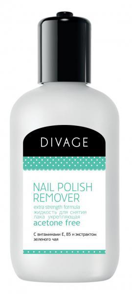 Divage Nail Care Spa Жидкость для снятия лака с экстрактом зеленого чая