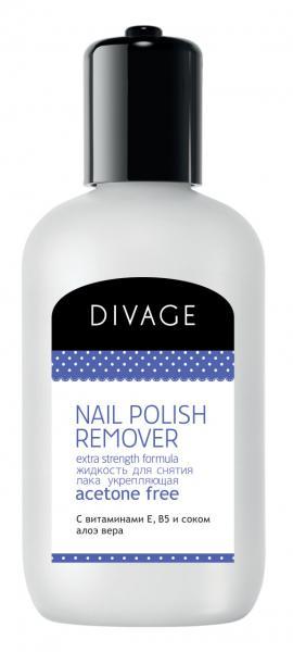 Divage Nail Care Spa Жидкость для снятия лака с соком алоэ вера
