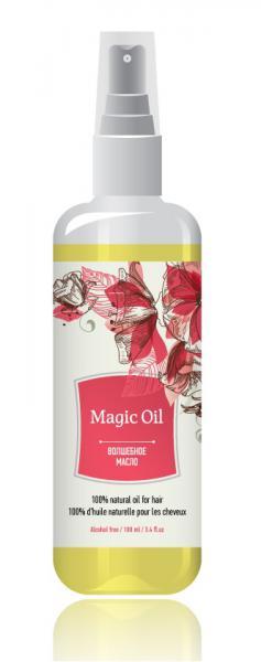 Veique Magic Oil woman - масло для волос № 58 (lanvin Eclat D'arpege) 100 мл.