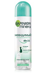 Garnier Mineral Невидимый Против Влажности Дезодорант 150 мл.