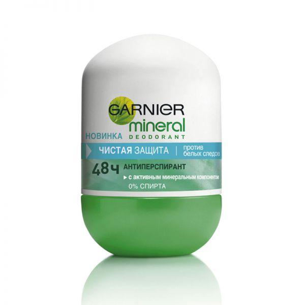 Garnier Mineral Чистая Защита Дезодорант-роликовый 50 мл.