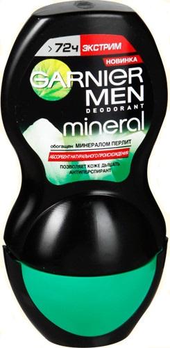 Garnier Men Mineral Экстрим Дезодорант-роликовый 50 мл.