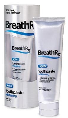 Breath Rx Защитная зубная паста с отбеливающей формулой 85 мл.