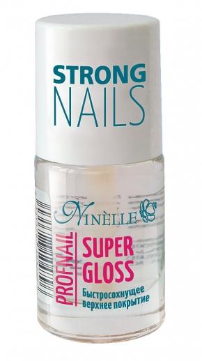 Ninelle Super Gloss Быстросохнущее верхнее покрытие