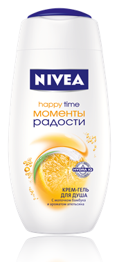 Nivea Моменты Радости Крем-гель для душа 750 мл.