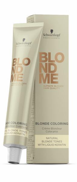 Schwarzkopf Professional Blondme Blonde Coloring Крем-классик 60 мл. ice (лед)