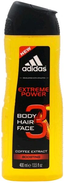 Adidas men Extreme Power Гель для душа для тела и волос 250 мл.