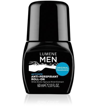 Lumene Skin Care Роликовый антиперспирант 24 часа Activate 60 мл.