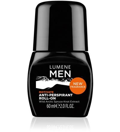 Lumene Skin Care Роликовый антиперспирант 24 часа Motivate 60 мл.