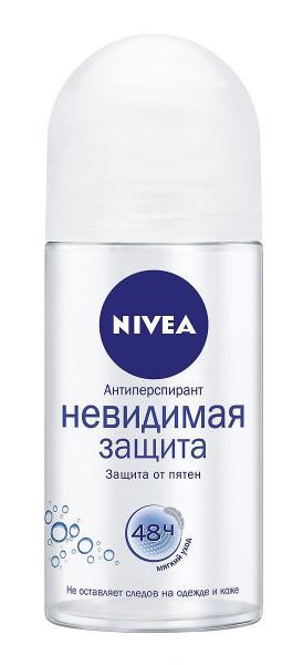 Nivea Невидимая Защита Дезодорант-роликовый 50 мл.