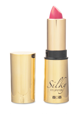 Vov Silky Fit Lipstick Губная помада увлажняющая №105 pansy pink