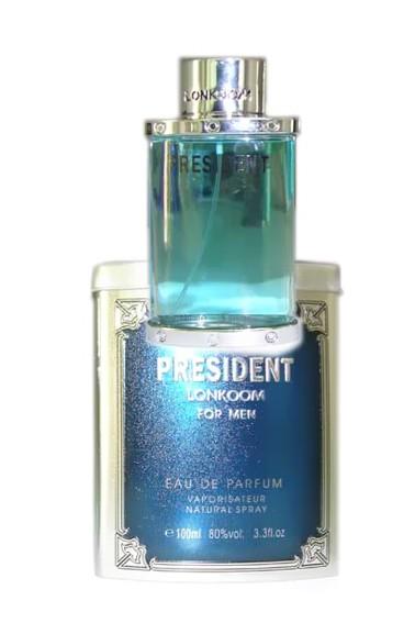 Lonkoom President Blue men Туалетные духи 60 мл.