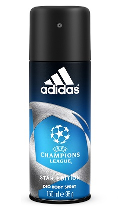 Adidas men (deo) Uefa Champions League Edition Дезодорант 150 мл.