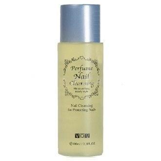 Vov Perfume Nail Cleansing Жидкость для снятия лака 100 мл. №1 yelllow