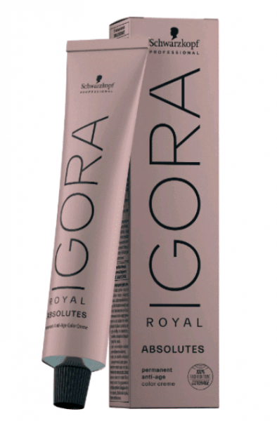 Schwarzkopf Professional Igora Royal Absolutes Крем-краска для волос №5-70 св. кор. медн. натур.