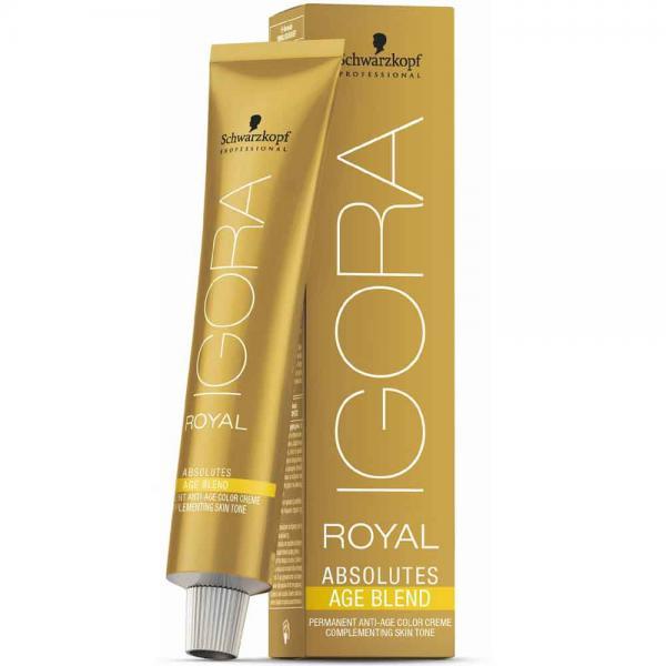 Schwarzkopf Professional Igora Royal Absolutes Age Blend Краска д/волос №6-460 тем. рус. беж. шок