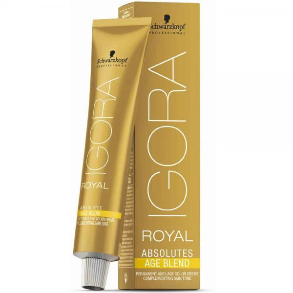 Schwarzkopf Professional Igora Royal Absolutes Age Blend Краска д/волос №9-560 блонд. зол. шок.