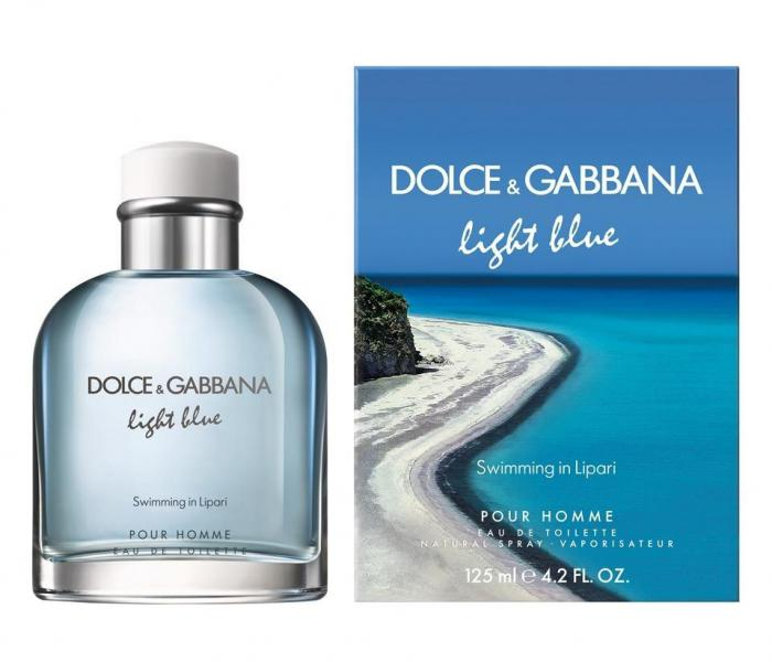 Dolce & Gabbana D&g men Light Blue Swimming In Lipari Туалетная вода 125 мл.