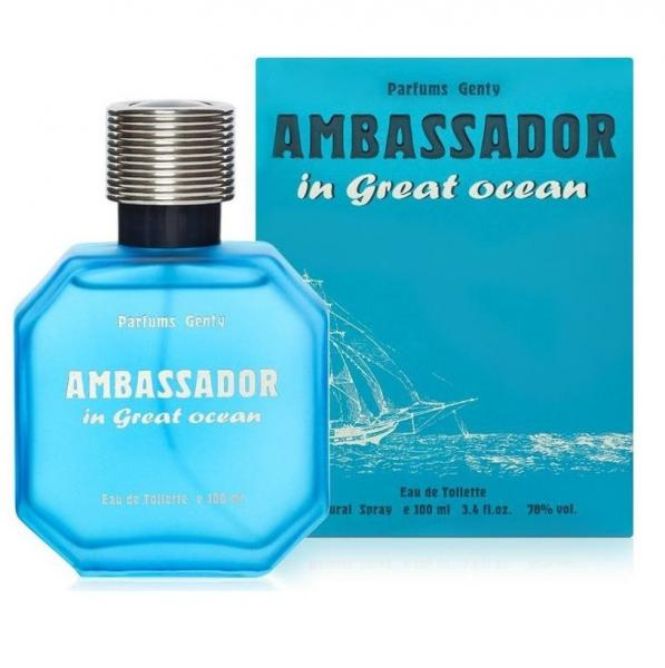 Parfums Genty Ambassador In Great Ocean men ��������� ���� 100 ��.