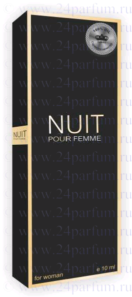 "Парфюмерные масла ""Queen"" парфюм.масло Queen - Nuit Pour Femme 10 мл. (hugo Boss Boss Nuit Pour Femme)"