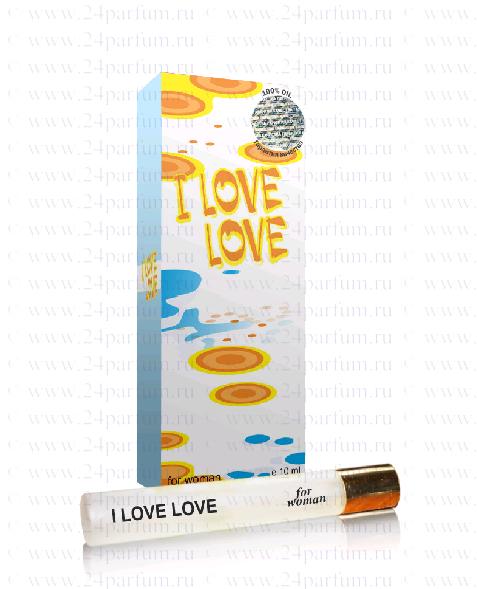 парфюм.масло Queen - I Love Love 10 мл. (moschino I Love Love)