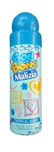 Bon Bons girls Tropical Berry Дезодорант 75 мл. (malizia)
