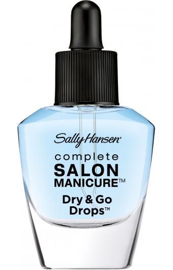 Sally Hansen Dry & Go Drops Капли для быстрого высушивания маникюра 11 мл.