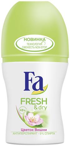 Fa Fresh & Dry Цветок Вишни Дезодорант-роликовый 50 мл.