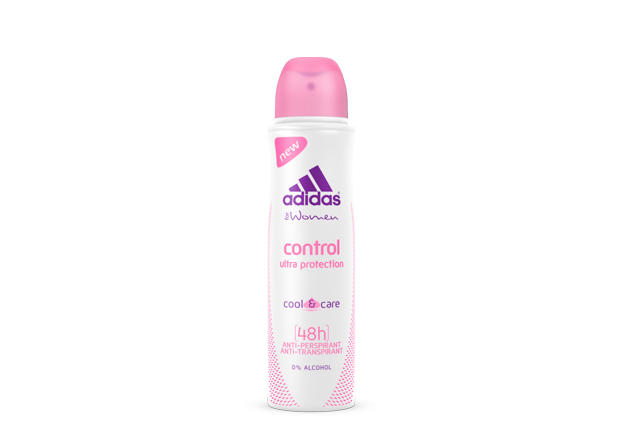 Adidas woman (deo) Cool & Care Control Дезодорант 150 мл.