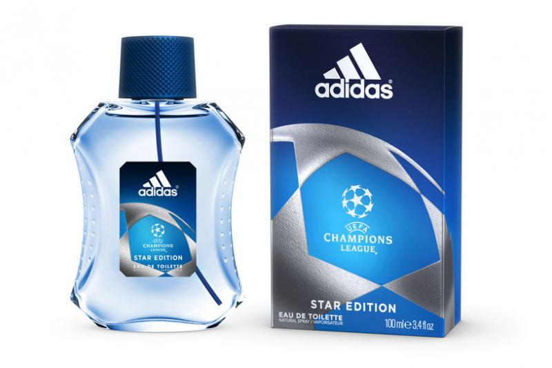 Adidas men Uefa Champions League Edition Star Edition Туалетная вода 100 мл.