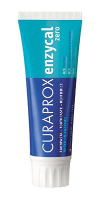 Curaprox Enzycal Zero Зубная паста против кариеса для детей и взрослых 75 мл.