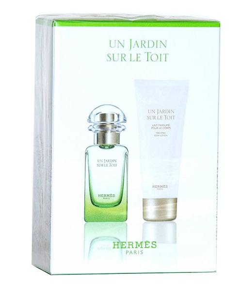 Hermes unisex Un Jardin Sur Le Toit Набор: Туалетная вода 50 мл. + Лосьон для тела 40 мл.