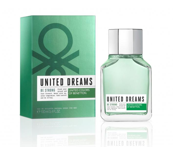 Benetton men United Dreams Be Strong Туалетная вода 60 мл.