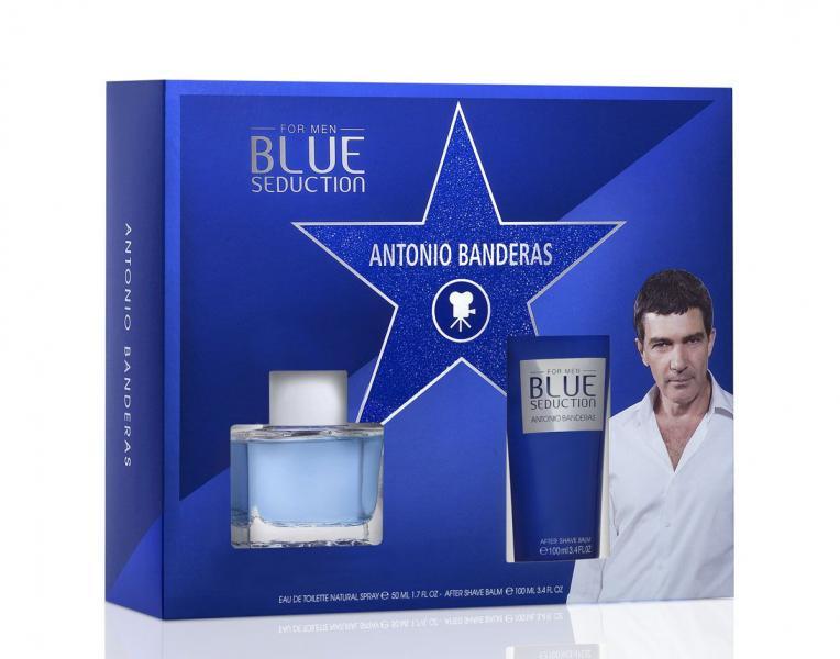 Antonio Banderas A. Banderas men Blue Seduction Набор: Туалетная вода 50 мл.+ Бальзам после бритья 100 мл.