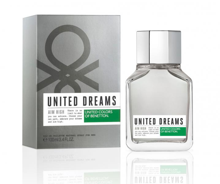 Benetton men United Dreams Aim High Туалетная вода 60 мл.