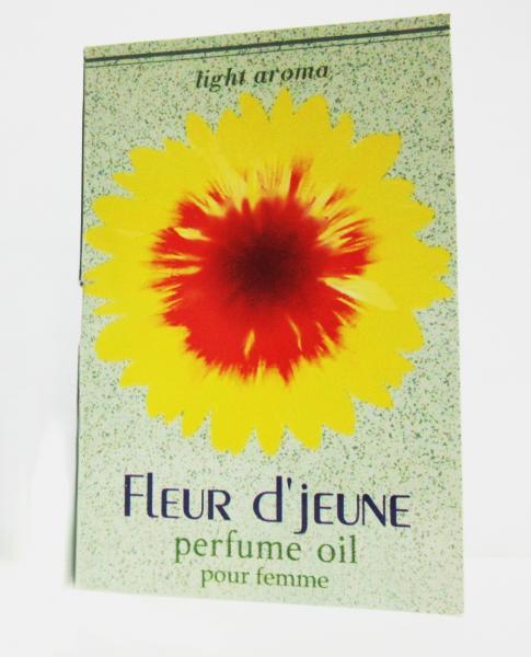 """Парфюмерные масла """"Light Aroma"""" парфюм.масло пробник на открытке Fleur D`jeune 1.5 мл. (elizabeth Arden Splendor)"""