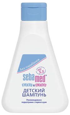 Sebamed Baby & Kids Детский шампунь 250 мл.