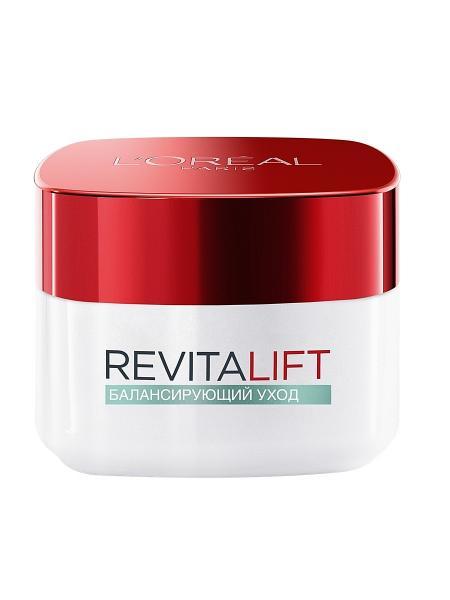 """Loreal Revitalift Крем дневной для комбинированной кожи лица """"балансирующий уход"""" 50 мл."""