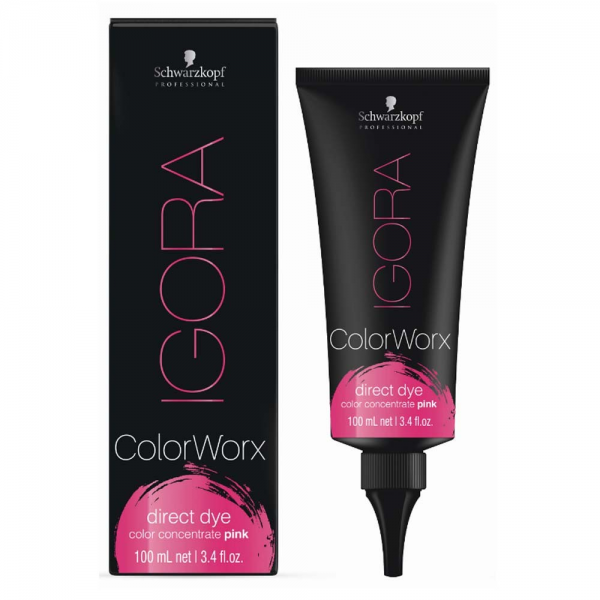 Schwarzkopf Professional Igora Colorworx Оттеночный краситель 100 мл. розовый