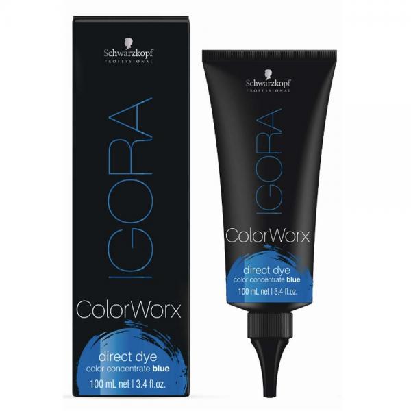 Schwarzkopf Professional Igora Colorworx Оттеночный краситель 100 мл. синий