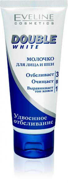Eveline Double White Молочко для кожи лица и шеи 200 мл.