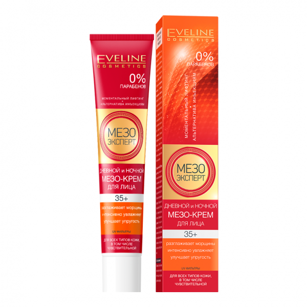 Eveline Мезо Эксперт 35+ Дневной и ночной мезо-крем для кожи лица 50 мл.