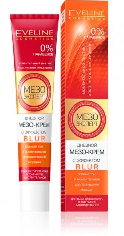 Eveline Мезо Эксперт Дневной мезо-крем с эффектом blur для кожи лица 50 мл.