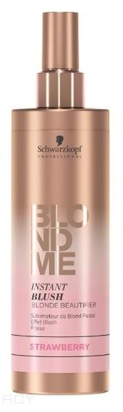 Schwarzkopf Professional Blondme Instant Blush Оттеночный спрей 250 мл. - земляника