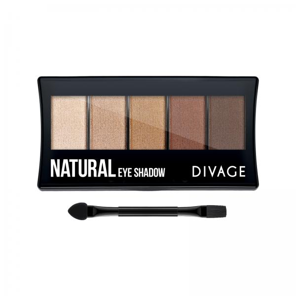 Divage Eye Shadow Палетка теней для век - тон natural
